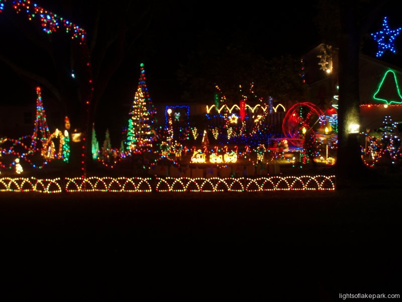 Lights of Lakes Park